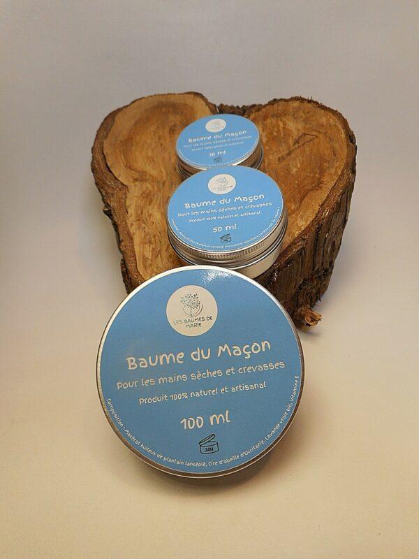Baume de Marie Baume du macon baume naturel plantain soin reparateur cicatrisant main seche et crevasse douloureuse saignante